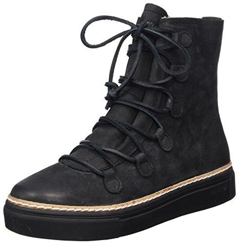 Blackstone Damen OL26 Hohe Sneaker, Schwarz (Black), 40 EU