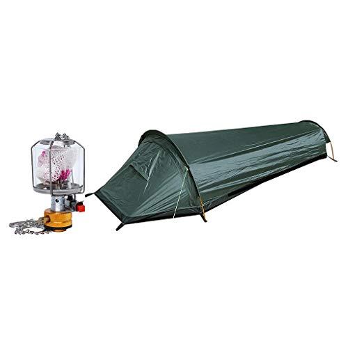 yotijar Refugio portátil de la playa del saco de dormir de la cabaña de la tienda de campaña toda la temporada