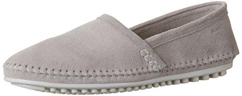 Marc Shoes Damen Echt-Leder Schnür-Slipper Luna, Grau, Größe: 42, 86450500247420