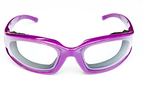 Onion Goggles Tear Free Purple Chopping Kitchen BBQ Glasses