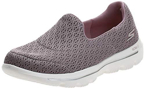Skechers Go Walk Evolution Ultra 15738 MVE - Zapatillas deportivas para mujer grandes, color rosa, color Rojo, talla 36 EU