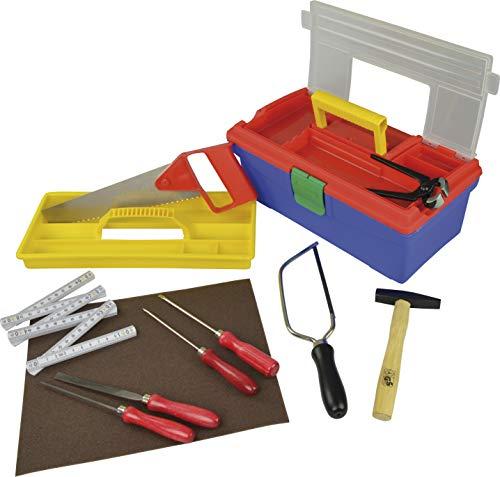 Pebaro 645 Werkzeug-Set für Hobby und Schule mit 11 Teilen