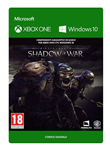 Middle-earth: Shadow of War - Slaughter Tribe Nemesis Expansion | Xbox One/Windows 10 PC - Codice download