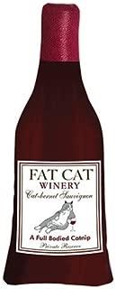 Alice's Cottage Wine Me Up Fat Cat Catnip Toy