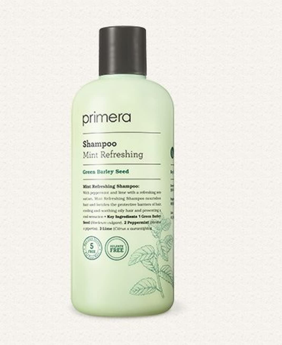 二年生クリーク肘Primera Mint Refreshing Shampoo 300ml K-beauty[並行輸入品]