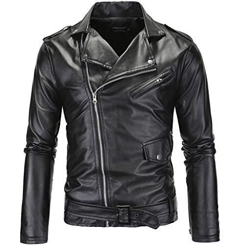 Mens buiten motorfiets modern lederen mantel mannen zwart herfst top wit motorjack racing biker mantel klassieker windbestendig