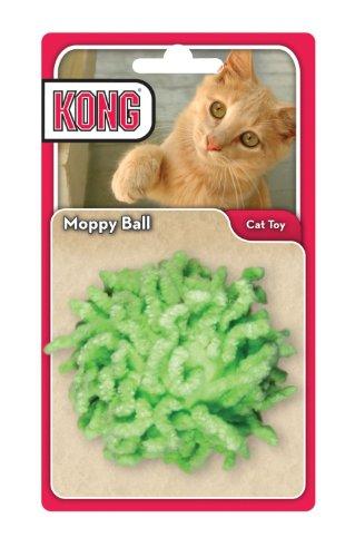 Nobby Katzenspielzeug Kong Moppy Ball, Farblich sortiert (Auswahl nicht möglich)