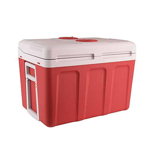 Auto Companion koelbox warm/koud, draagbare elektrische koelbox 40 l 240 VAC & 12 V