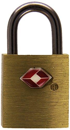 Pavo 8046737 PREMIUM TSA hangslot met 2 sleutels - van aluminium - grootte: 20 mm