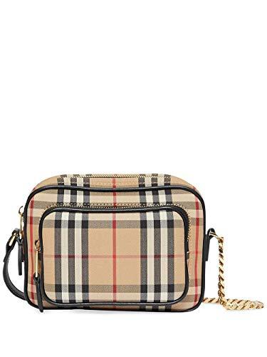 Burberry Luxury Fashion Donna 8021282 Beige Cotone Borsa A Spalla | Primavera-estate 20