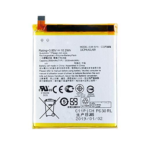 WYGUO C11P1601 Sostituzione della Batteria del Laptop per ASUS ZENFONE 3 ZE520KL Z017D ASUS ZENFONE Live ZB501KL(3.85V 10.2Wh)