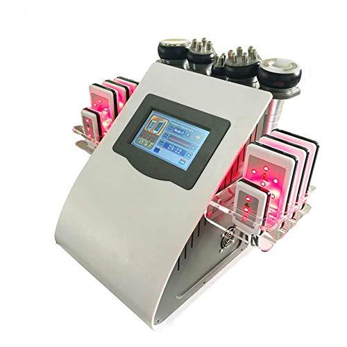 TXqueen 6 EN 1 40K Máquina de Belleza Profesional Ultrasonidos Radiofrecuencia, Masajeador...