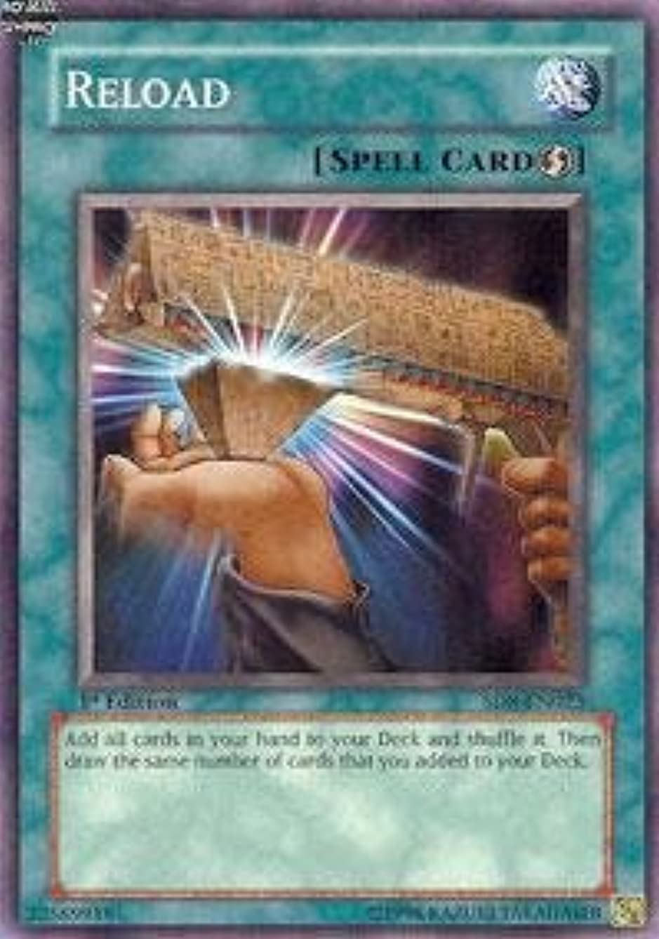 Yu-Gi-Oh! - Reload SD8 (SD8-EN023) - Structure Deck 8: Lord of the Storm - 1st Edition - Common