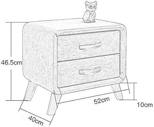 venta con descuento AFDK Dormitorio Mesita de de de noche Gabinete de esquina de madera maciza moderna Armario de almacenamiento de arte Armario lateral  muy popular