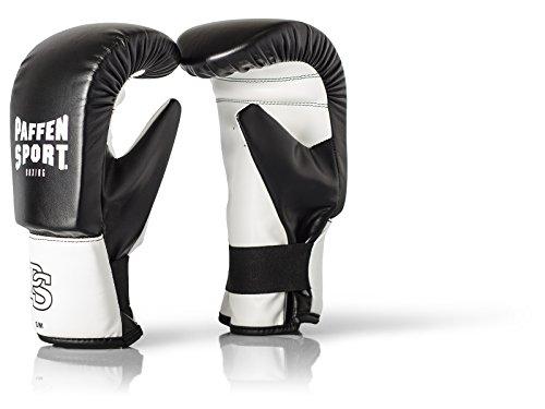 Paffen Sport FIT Boxsack-Handschuhe – schwarz/weiß – Größe: S/M