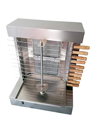 Tacos Al Pastor Gas Doner Kebab Machine - 2 Gas Burners...