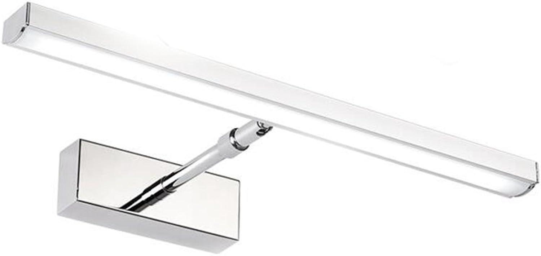Miaoge LED Spiegelleuchten Spiegelschrank Licht Bad WC Wand wasserdicht Feuchtigkeit anti-fog Spiegel Videos Beleuchtung 39cm 7W