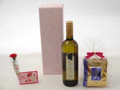 母の日 ワインセット 挽き立て珈琲(ドリップパック5パック)(チェヴィコ ブルーサ 白ワイン 750ml(イタリア))母の日カード お母さんありがとう