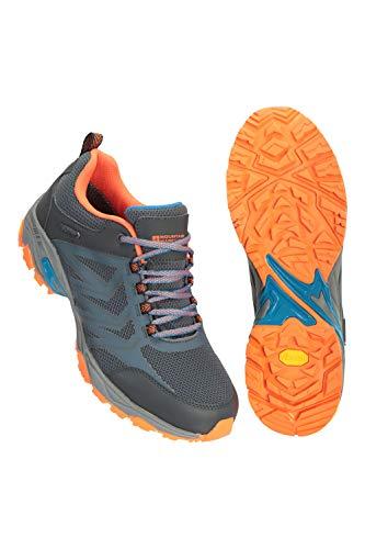 Mountain Warehouse Chaussures de randonnée imperméables Saturn Extreme pour Homme - Légères, résistantes, Tige Anti-déchirure - Idéales pour Les randonnées Gris 46