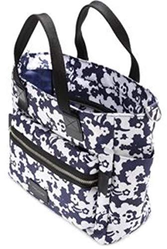Marc Jacobs Floral Print Biker Baby Diaper Bag (Blue, One Size)