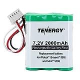 Tenergy 7.2V 2000mAh Replacement Battery for iRobot Braava 380 380t 390 390t & Mint 5200 5200B 5200C
