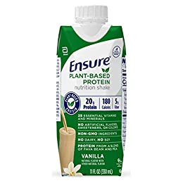 100% PLANT-BASED PROTEIN: 20g of protein from fava bean and pea protein to support muscle health VEGAN-FRIENDLY & NON-GMO*: NO dairy, soy, or cholesterol; NO artificial sweeteners, flavors, or colors; and gluten-free GREAT TASTE GUARANTEED: Our Vanil...