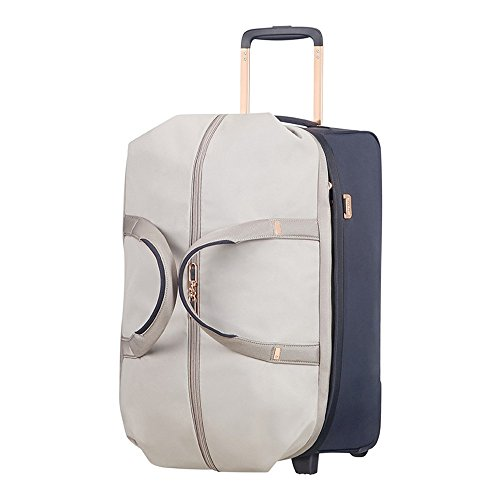 Samsonite Durchläufer Reisetasche, 55 cm, 68, 5 L, Pearl/Blue