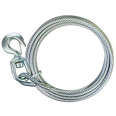 Steel Core Swivel-Hook Winch Cable