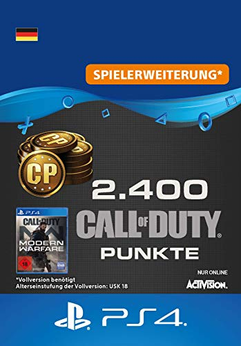Call of Duty: Modern Warfare-Punkte 2400 Points | PS4 Download Code - deutsches Konto