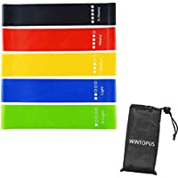 5-Pack WINTOPUS Resistance Loop Exercise Bands
