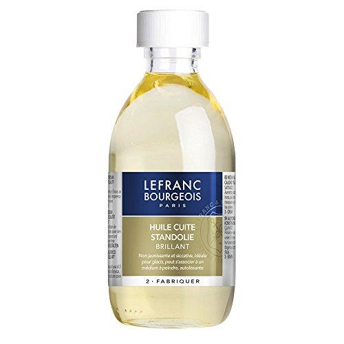 Lefranc & Bourgeois Malmittel, Leinöl, Standöl für Ölfarben in 250 ml Flasche