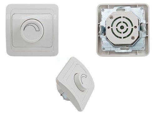 Regulador de intensidad de 600 W, enchufe, interruptor, interruptor, regulador de intensidad.