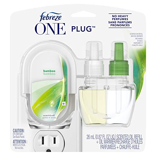 Bamboo Scent Compatible with Febreze Plug in and Refill