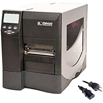 Direct Thermal 4 Inch LP2844 Barcode Label Printer USB and Ethernet Interface with Power Supply Renewed