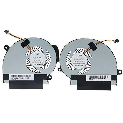 CPU & GPU Cooling Fan for Toshiba Satellite S55T-B S55T-B5150 S55T-B5335 S55T-B S55T-B5233 S55T-B5273 S55T-B5282 S55T-B5260 S55T-B5233 FABLN00EUA FABLN01EUA