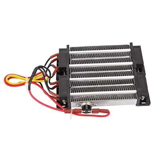 Calentador de aire de cerámica, calentador de aire PTC de 110 V / 220 V, instrumento para aire acondicionado, máquina de cortina de aire, calentador eléctrico(220V1000W)