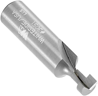 Whiteside Router Bits 3051 Keyhole Bit with 3/8-Inch Large Diameter and 7/16-Inch Cutting Length