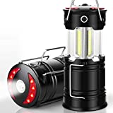 EZORKAS 2 Pack Camping Lanterns, Rechargeable Led...