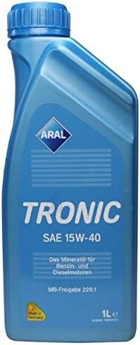 Aral Tronic 15w 40 Motorenöl 1 Liter Auto