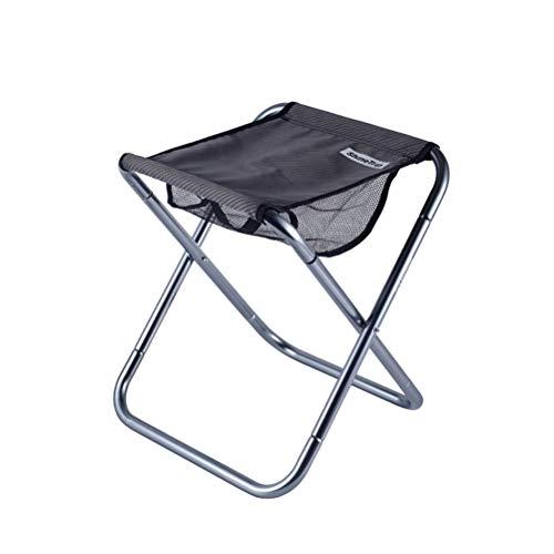Sillas plegables Silla de pesca de aleación de aluminio plegable al aire libre Silla de pesca de engrosamiento de taburete Silla de asiento plegable para pesca al aire libre Plegable ( Color : 3 )