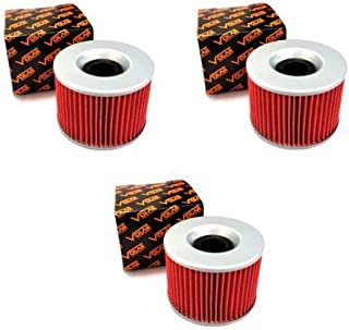 Volar Oil Filter - (3 pieces) for 1980-1983 Honda Goldwing 1100 GL1100