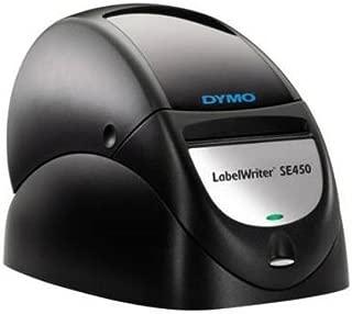 Dymo LabelWriter SE450 Direct Thermal Printer - Monochrome - Desktop - Label Print - 48 lpm Mono - 203 x 203 dpi - USB - NEW - Retail - 1761334