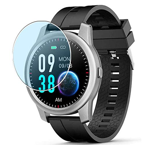 Vaxson 3 Stück Anti Blaulicht Schutzfolie, kompatibel mit Elephone R8 smart watch Smartwatch, Displayschutzfolie Anti Blue Light [nicht Panzerglas]