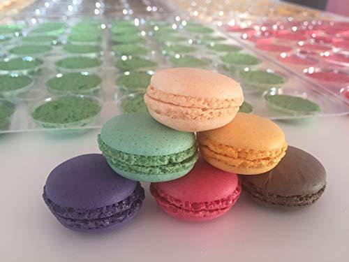 Macarons pack de 24 unidades en 6 sabores 115g (48 piezas)