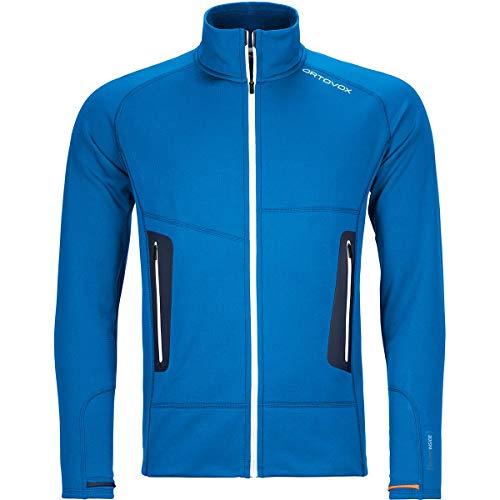 ORTOVOX Fleece Light Jacket M Veste Homme, Sécurité Bleu, M