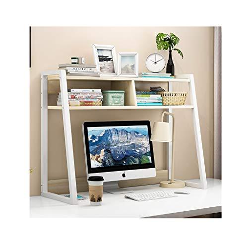 Organizador de Escritorio Estantería de escritorio de madera estantería de estantería encimera librería oficina oficina escritorio organizador almacenamiento estante para el hogar decoración del hogar