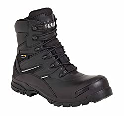 waterproof safety boots with side zip - Apache 4 combat