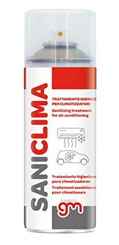 SANICLIMA, Igienizzante Spray per Climatizzatori di Casa e Auto, gradevolmente profumato a base alcolica 400ml (1)