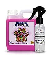 Trade Chemicals Fresh Pet 1L with Spray Kennel Disinfectant Deodoriser Cleaner (BUBBLEGUM)