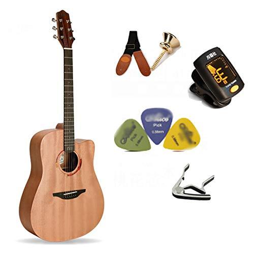 YYFANG Guitarra acústica clásica de 40/41'- Guitarra de...